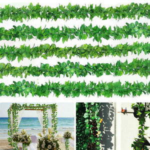 Am-GQ-12Pc-Fake-Artificial-Ivy-Leaves-Hanging-Greenery-Garlands-Party-Decor-Re