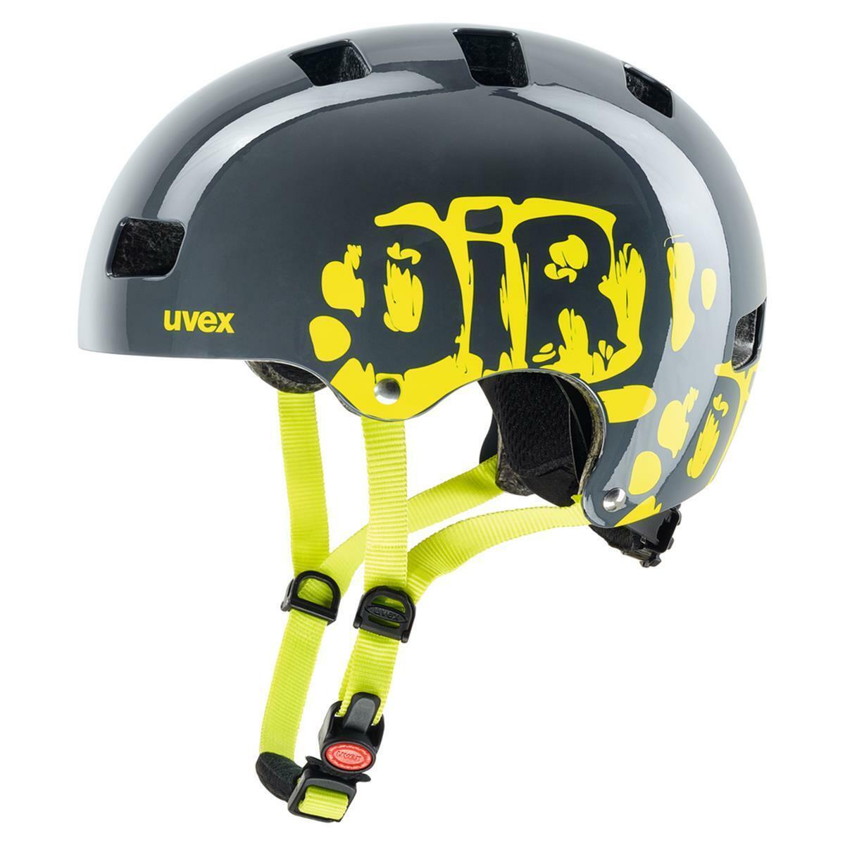 Uvex Kid 3, Dirt Bike Grigio Calce