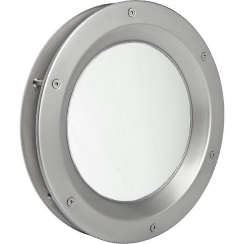 MLS Bullauge B6000 Rundfenster Edelstahl matt für Wandstärke 40 //-2 mm