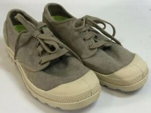 palladium olive green khaki canvas casual tennis shoes