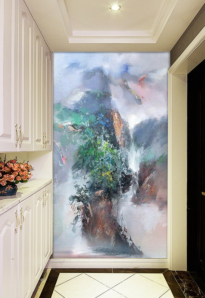 3D Abstract Scenery 6 Wall Paper Exclusive MXY Wallpaper Mural Decal Indoor wall