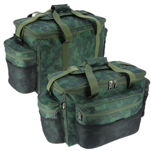 Camo Carp Course Fishing Tackle Bag Large Sea Fishing Holdall Carryall Bag UK