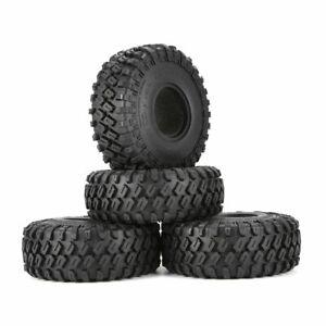 AUSTARHOBBY AX-7020 4Pcs 1.9 Inch 122mm 1/10 Rock Crawler Rubber Tires for D90
