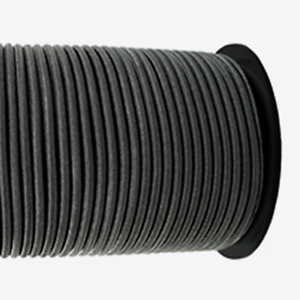 30m Multiflex Expanderseil ø 4mm schwarz Gummiseil