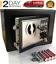 Caja Fuerte De Seguridad Digital Pequeña Para Dinero Contra Fuego Ultra Secreta