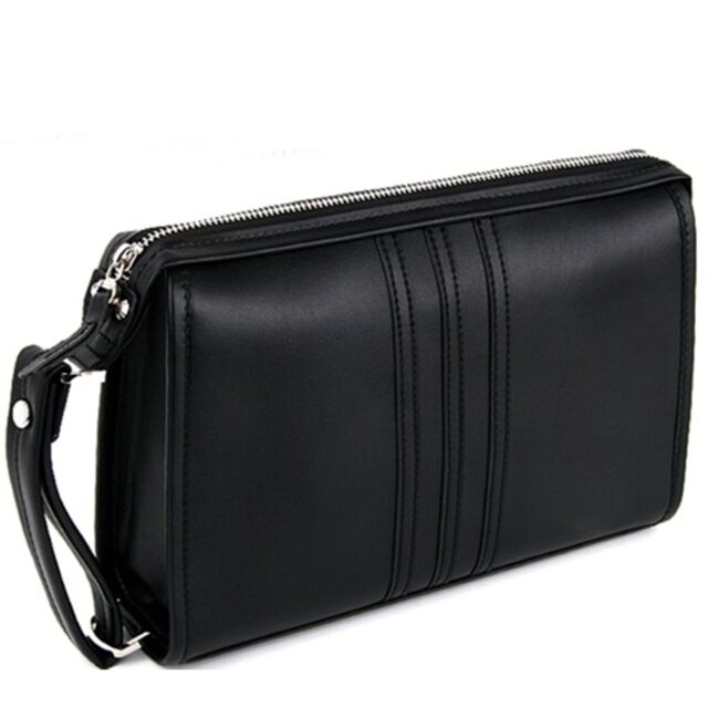 Men Business Bag Man Toiletry S 100 Genuine Cow Leather D5029