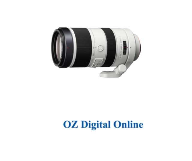 New Sony 70-400mm F4-5.6G SSM II Lens 1 Year Au Warranty