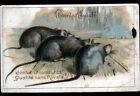 IMAGE CHROMO CHOCOLAT POULAIN / RAT devant PIEGE pour RONGEUR