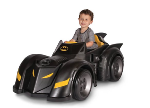 Batman Batmobile 6-Volt Battery-Powered Ride-On Superhero Gotham Playroom Park
