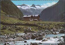 Alte Postkarte - Gasthof Alpenrose im Habachtal