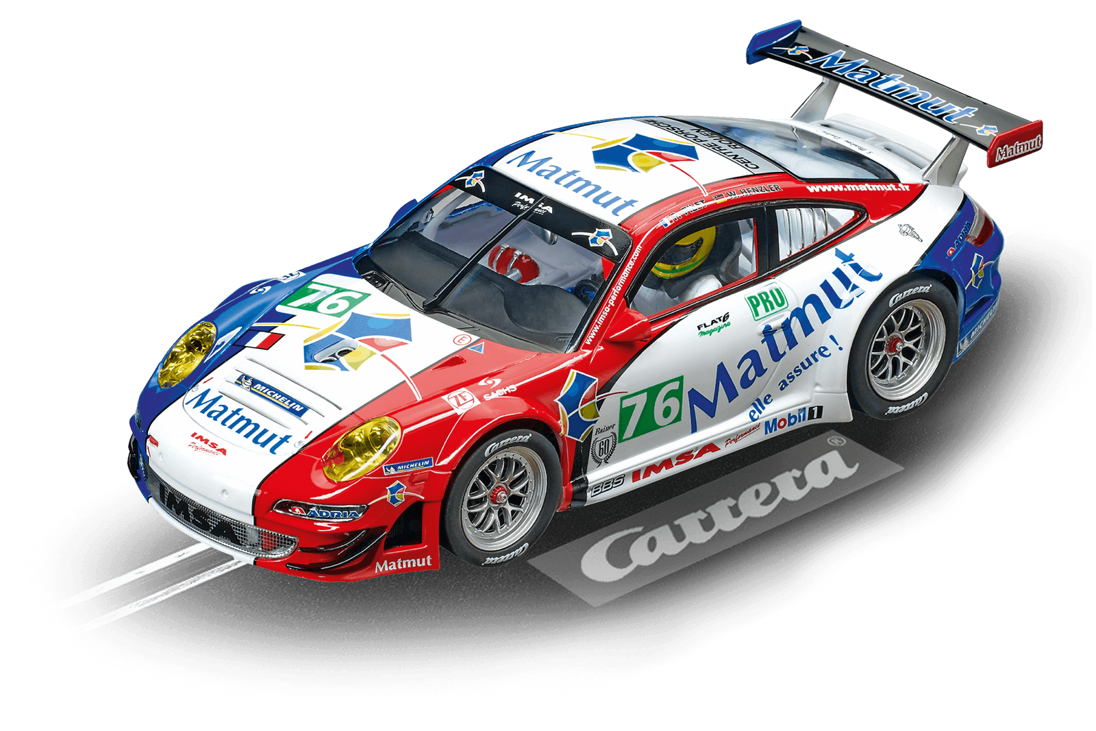Top Tuning Carrera 124 Digitale - Porsche Gt3 Rsr   Matmut   No.76 come 23863