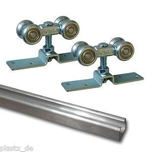 Delightful Das Bild Wird Geladen Aluminium Laufschiene 3m Beschlag Schiebetuer Schiene  Alu Tuer