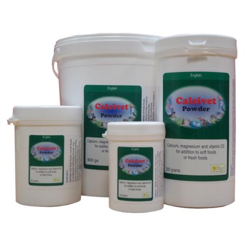 Calcivet Nahrung Calcium Ergänzung für Vögel 900G von The Birdcare Company