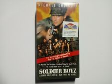 Soldier Boyz (VHS, 1996) Full Length Screener Copy