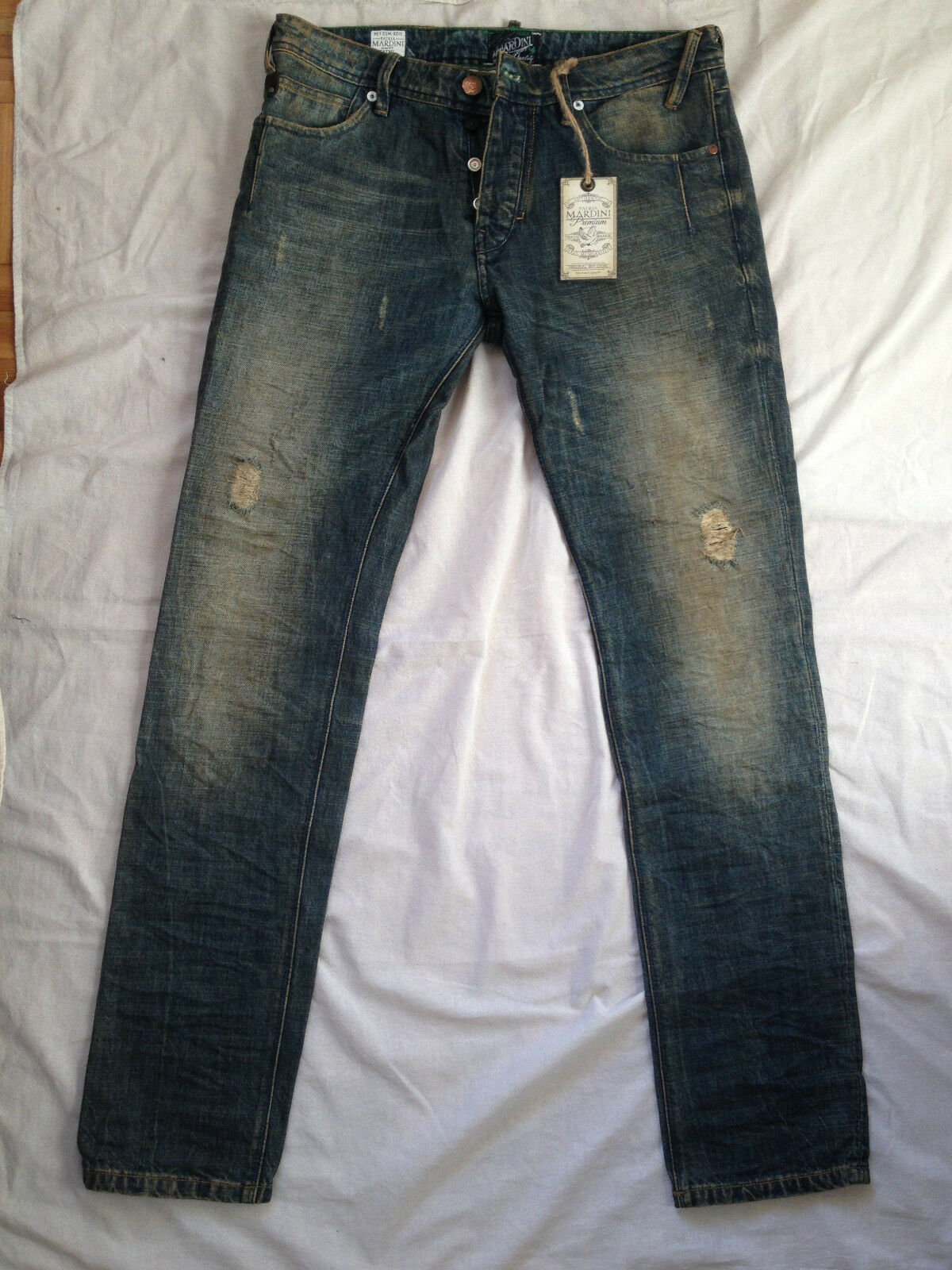 b3b1f909 PATRIA MARDINI PREMIUM DENIM MODEL FATHI SLIM FIT W32 X L34 nqriyh3344-Jeans
