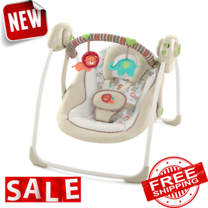 ROCKER SWING BABY INFANT Bouncer Seat Sleeper Chair Cradle Portable Rocking Sway