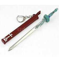 Cosplay Sword Art Online SAO Keychain Yuki Asuna Key Ring Sword Pendant