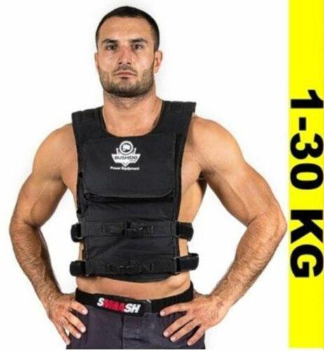 DBX BUSHIDO Gewichtsweste Trainingsweste Joggingweste Fitnessweste 1-30 kg