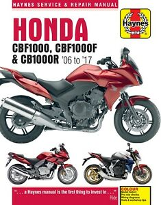 Haynes-Manual-4927-Honda-CBF1000-CBF1000F-amp-CB1000R-06-17-Workshop-Manual