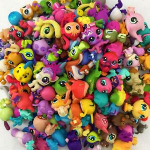 Random-20PCS-Littlest-Pet-Shop-Original-LPS-animals-Hasbro-MINI-Figure-Girl-Toys