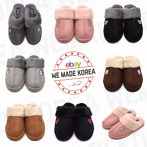 BT21-Character-Happy-Fur-Winter-Slipper-Shoes-7types-Official-K-POP-Authentic-MD