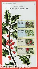 2014 Post and Go: British Flora III ( 3 ) Winter Greenery Pack No. P&G 17