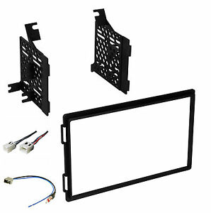 radio dash stereo mounting kit w harness antenna install