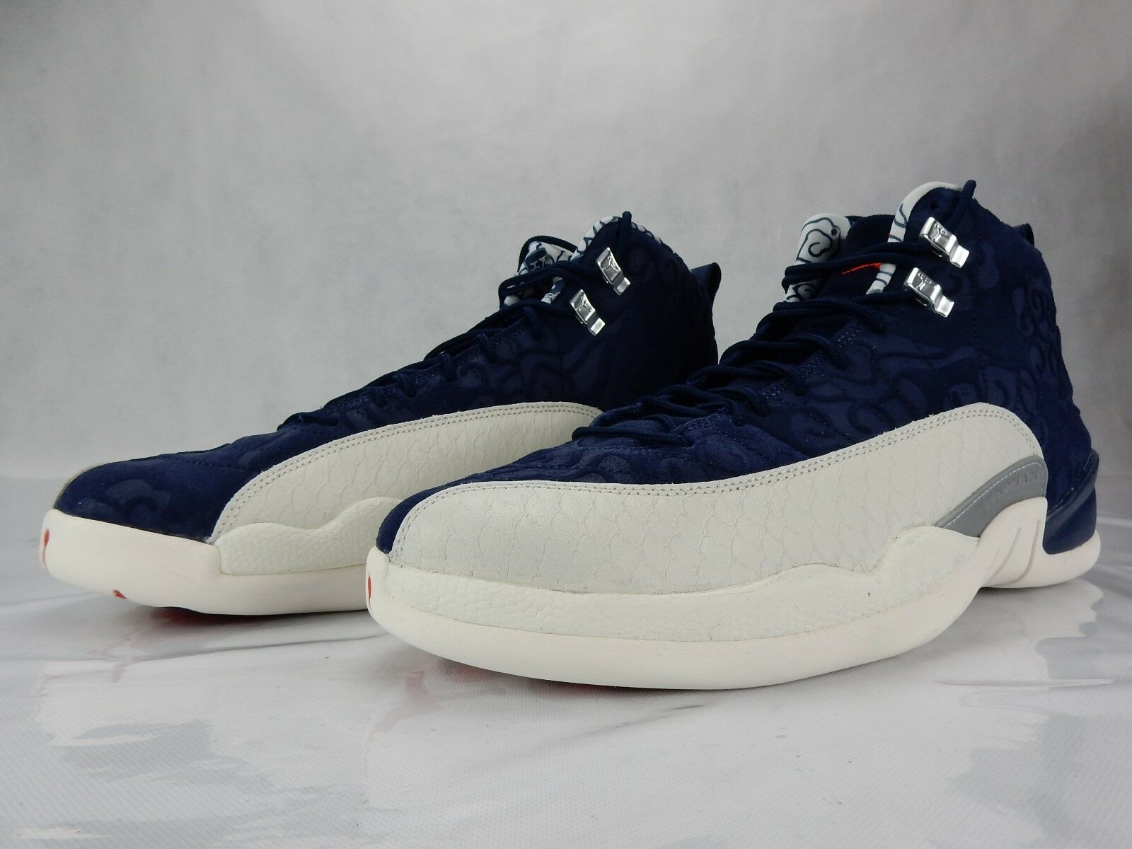 0dc6022e089b2e Nike Air Jordan 12 Retro International Flight College College College Navy  BV8016 445 Size 11 DS
