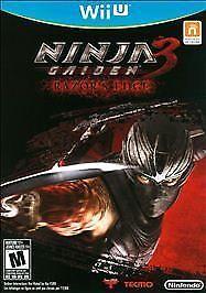 Ninja Gaiden 3 Razor S Edge Nintendo Wii U 2012 For Sale