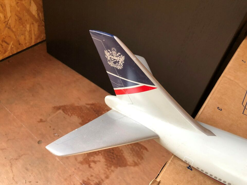 Modelfly, Display fly 747 British Airways, skala 1:200