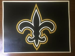 Image Is Loading Tin Sign New Orleans Saints Whodat Nfl Sports