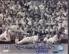 Brooks Robinson Signed Orioles 8x10 Photo - HOF 83