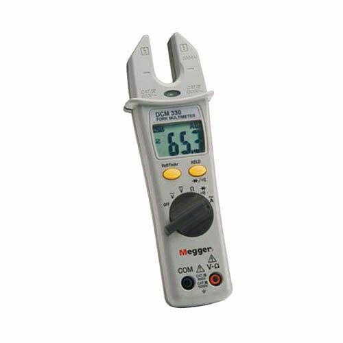Megger Dcm330-en Cat IV Fork Multimeter 1000v DC Voltage 200a AC Current