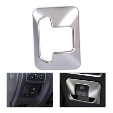 Chrome Electronic Handbrake Button Panel Trim Cover For Volvo XC60 XC70 S60 S80