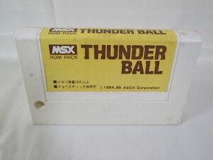 MSX-THUNDER-BALL-Cartridge-only-Import-Japan-Video-Game-msx