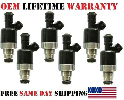 OEM Rochester Fuel Injectors Set 6 17103007 Rebuilt by Master ASE Mechanic USA