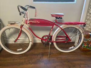 SPECIAL EDITION COLLECTIBLE WESTERN FLYER 1950's RARE & FAMOUS BICYCLE