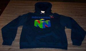 NINTENDO-64-N64-HOODIE-HOODED-Sweatshirt-SMALL-NEW-w-TAG