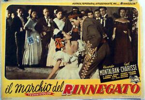 WESTERN-MARK-OF-THE-RENEGADE-RICARDO-MONTALBAN-1951-FOTOBUSTA-HUGO-FREGONESE