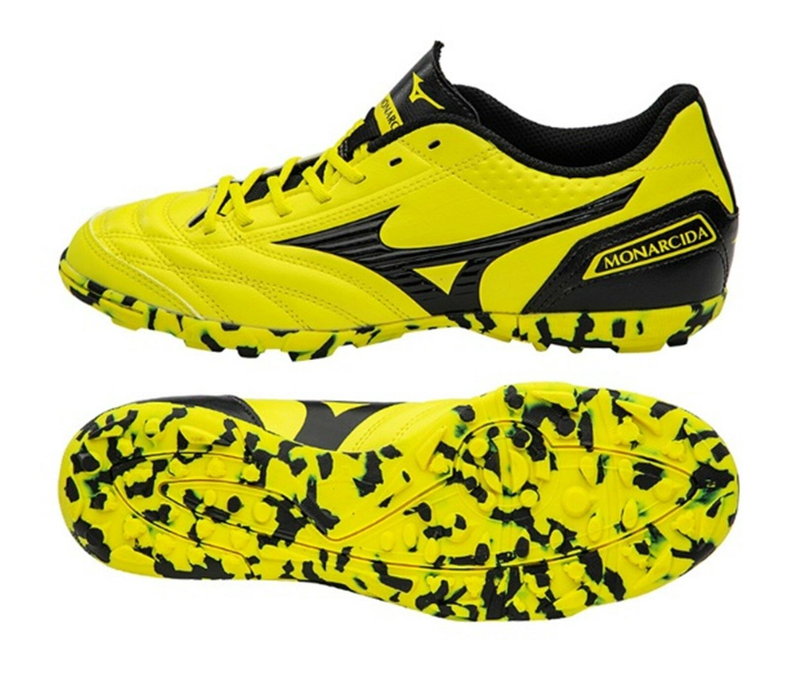 Mizuno Men Monarcida FS TF Cleats Soccer Futsal Schuhes Stiefel Spike Q1GB181209