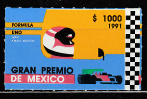 Mexico - Mail 1991 Yvert 1361 MH Sports Automóvilismo
