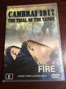 LINE-OF-FIRE-CAMBRAI-1917-The-Trial-Of-The-Tanks-New-Sealed-DVD-R4-PAL