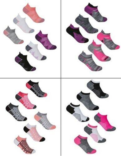 Damen Undercover Weiches Polster Sohle SPORTS Socken 6 Oder 12 Paar