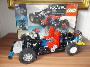 set lego technic 8860 voiture car chassis boite 1980 et boite ebay. Black Bedroom Furniture Sets. Home Design Ideas