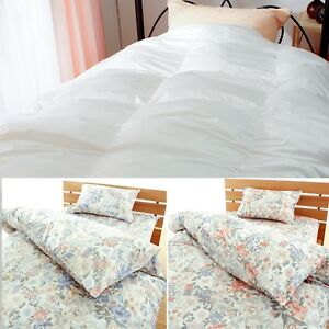 100% authentic 6ba81 ad0a5 Details about JAPAN, Washable Comforter, Futon,Dacron with High Density  Floral Cover