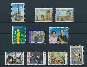 LO42535 Luxembourg mixed thematics nice lot of good stamps MNH