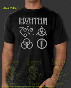 Led Zeppelin Rock Band  Graphic T-Shirts