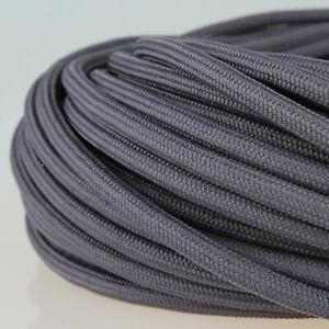 Textilkabel Stoffkabel Lampen Kabel Graphit Grau 3 Adrig Pendelleitung Stromkabe Ebay