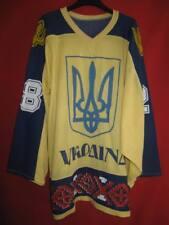 Maillot Hockey Glace Ukraine Vintage 80'S n° 28  України хокею ice team - XL