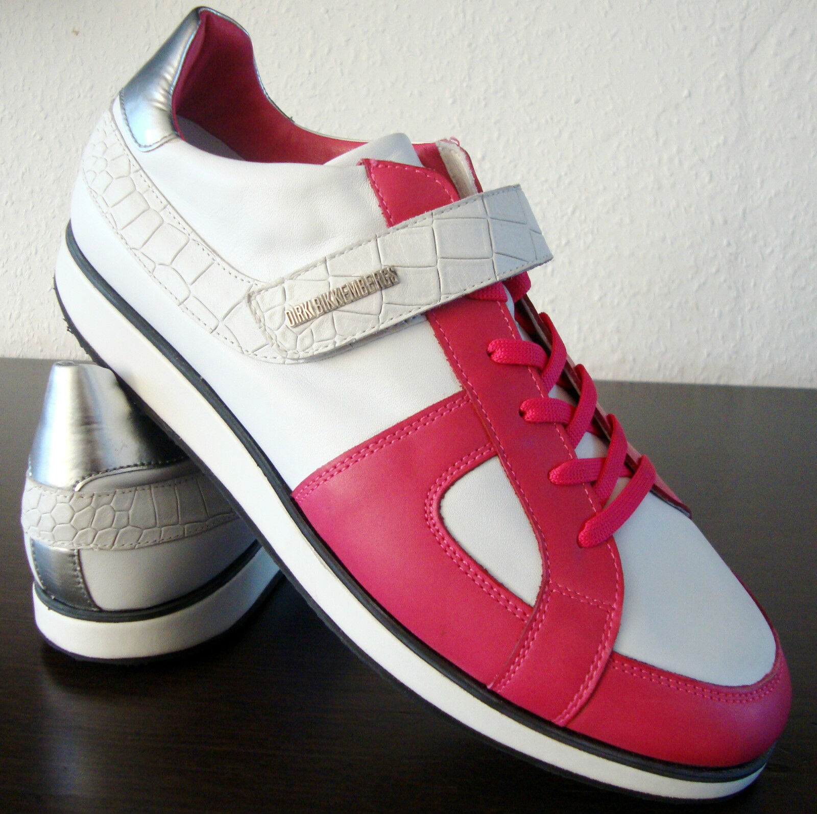 DIRK BIKKEMBERGS Sneakers FILLER DBR Leder 836 Shoes Herren Schuhe Leder DBR Gr.42 NEU ced79c